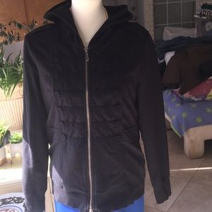 Juicy couture jacket with buttons down both sides